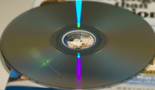 reparere en ridset CD