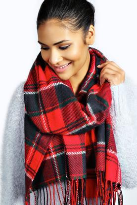 Livvy Tartan halstørklæde