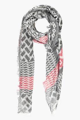 Sophie falmet print stort halstørklæde