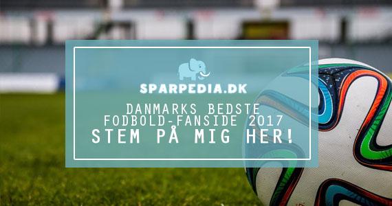 Danmarks bedste fodbold-fanside 2017