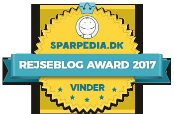Rejseblog Award 2017 – Winner