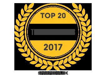 Banner für Top 20 Teknologi-blogs 2017