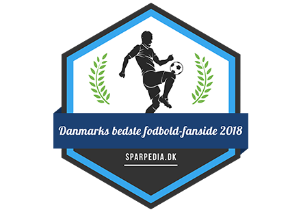 Banner für Danmarks bedste fodbold-fanside 2018