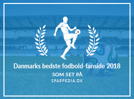 Danmarks bedste fodbold-fanside 2018
