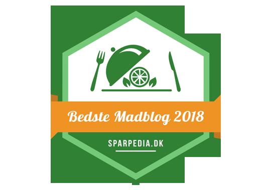 Banner for Bedste Madblog 2018