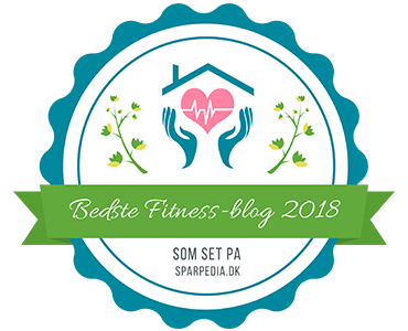 Banner für Bedste fitness-blog 2018