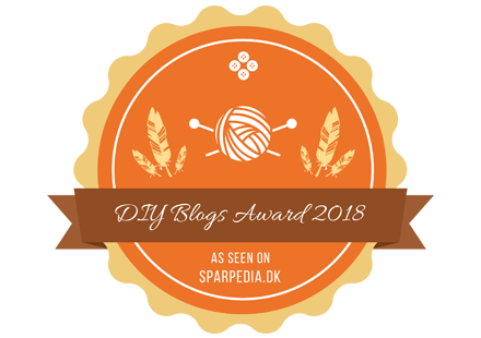 Banner für DIY Blogs Award 2018