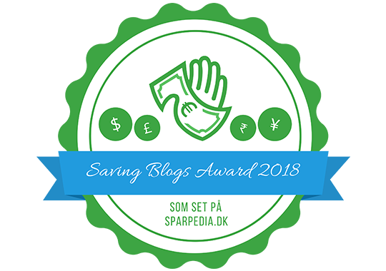 Banner für Savings Blogs Award
