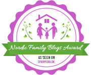 Banners for Nordic Family Blogs Award