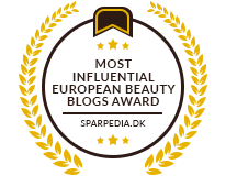 Banners for Most Influential European Beauty Blogs Award