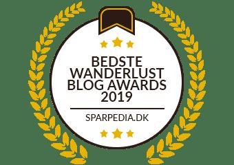 Bedste Wanderlust Blog Awards 2019