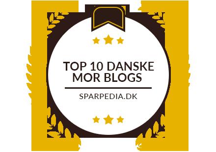 Banner für Top 10 Danske Mor Blogs