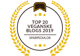 Banner für Top20 Veganske Blogs 2019