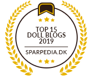 Banners for Top 15 Doll Blogs 2019