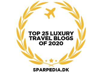Banners for Top 25 Luxury Travel Blogs of 2020